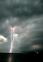 Lightning and Wall Cloud